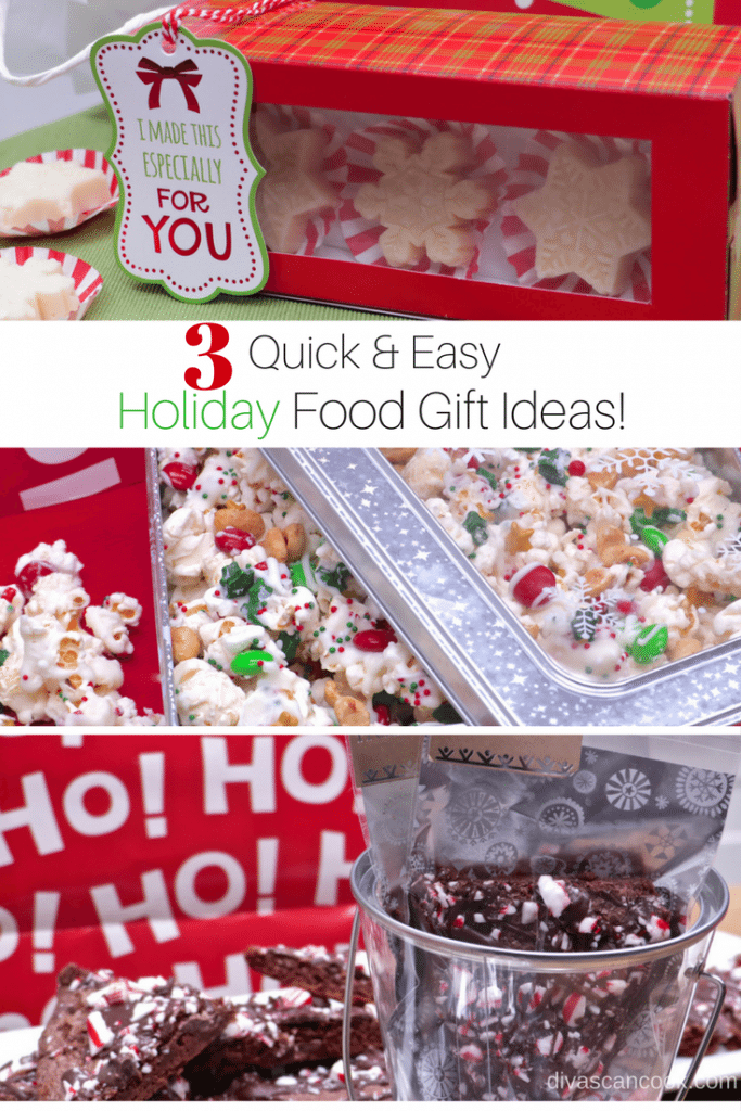 Quick & Easy Food Gift Ideas!