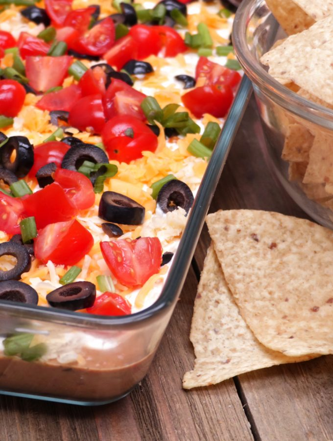 Easy, No-Cook Taco Dip