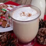 creamy gingerbread white hot chocolate recipe