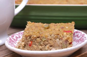 Old-Fashioned Southern Cornbread Dressing