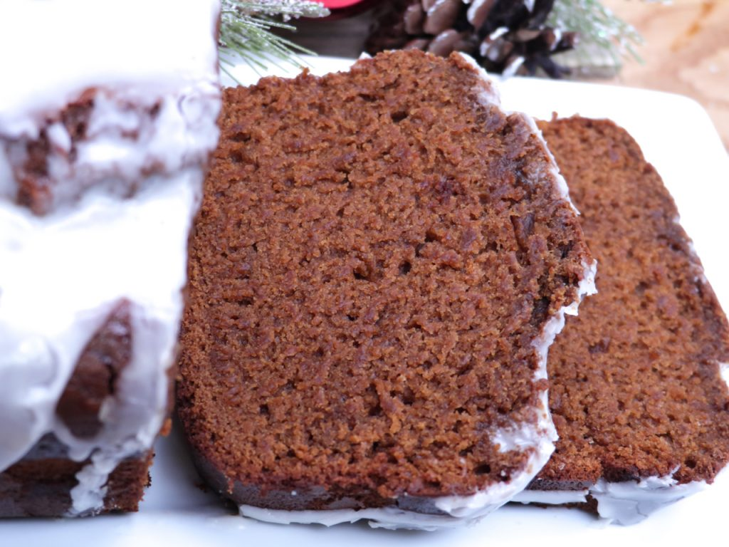 Old-Fashioned Gingerbread Loaf