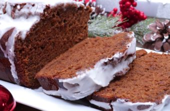 Old-Fashioned Iced Gingerbread