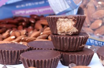 Vegan Chocolate Almond Butter Cups