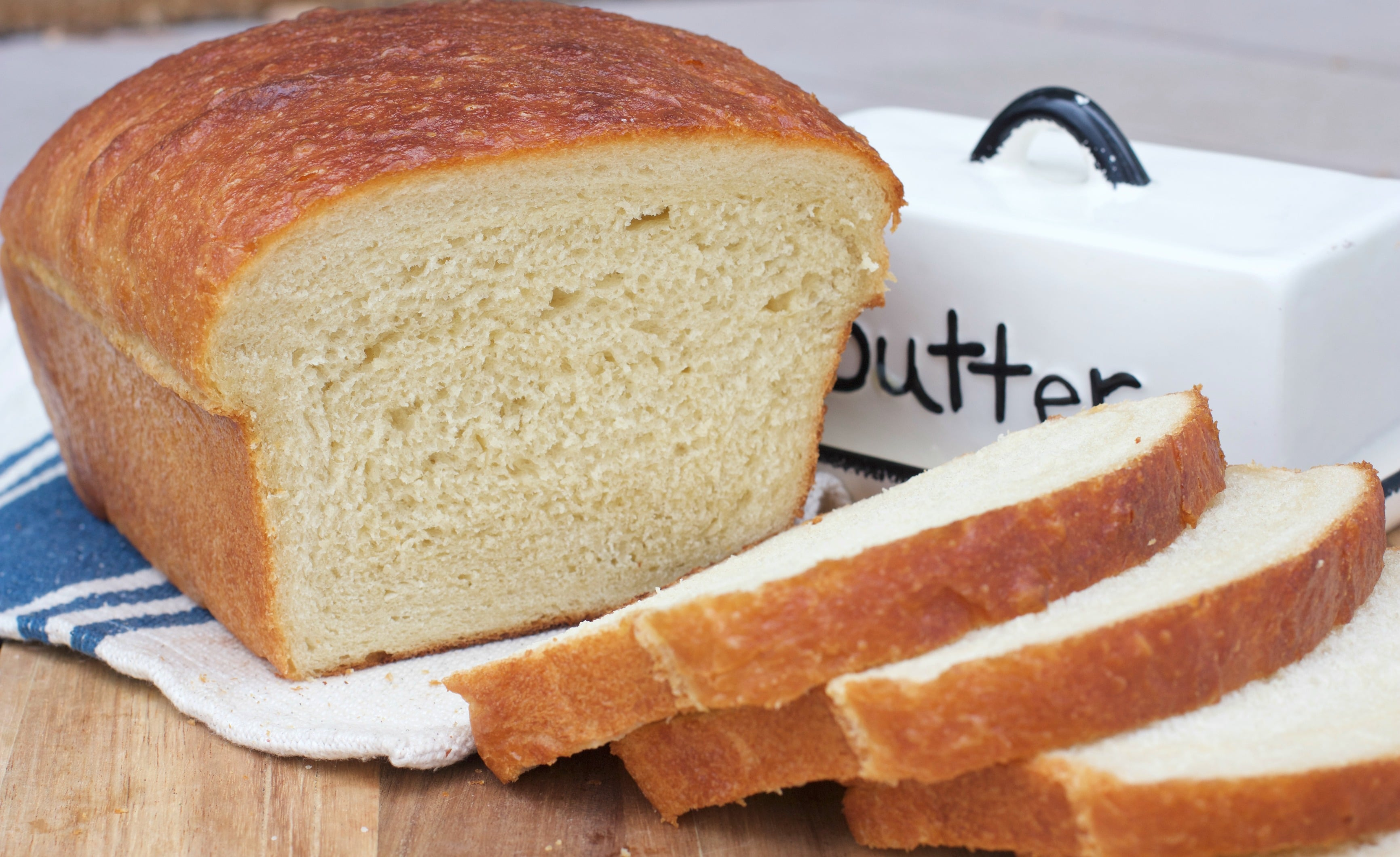 Old-Fashioned Soft White Bread Recipe