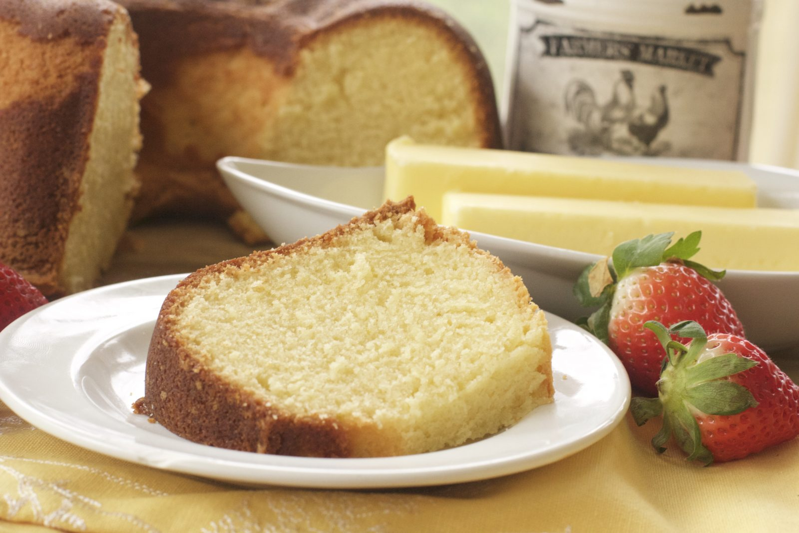 Southern Butter Pound Cake