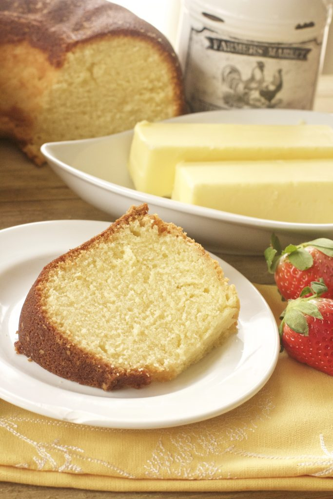 True Old Fashioned Pound Cake