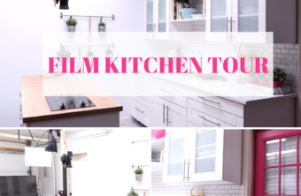 Filming Kitchen Tour!