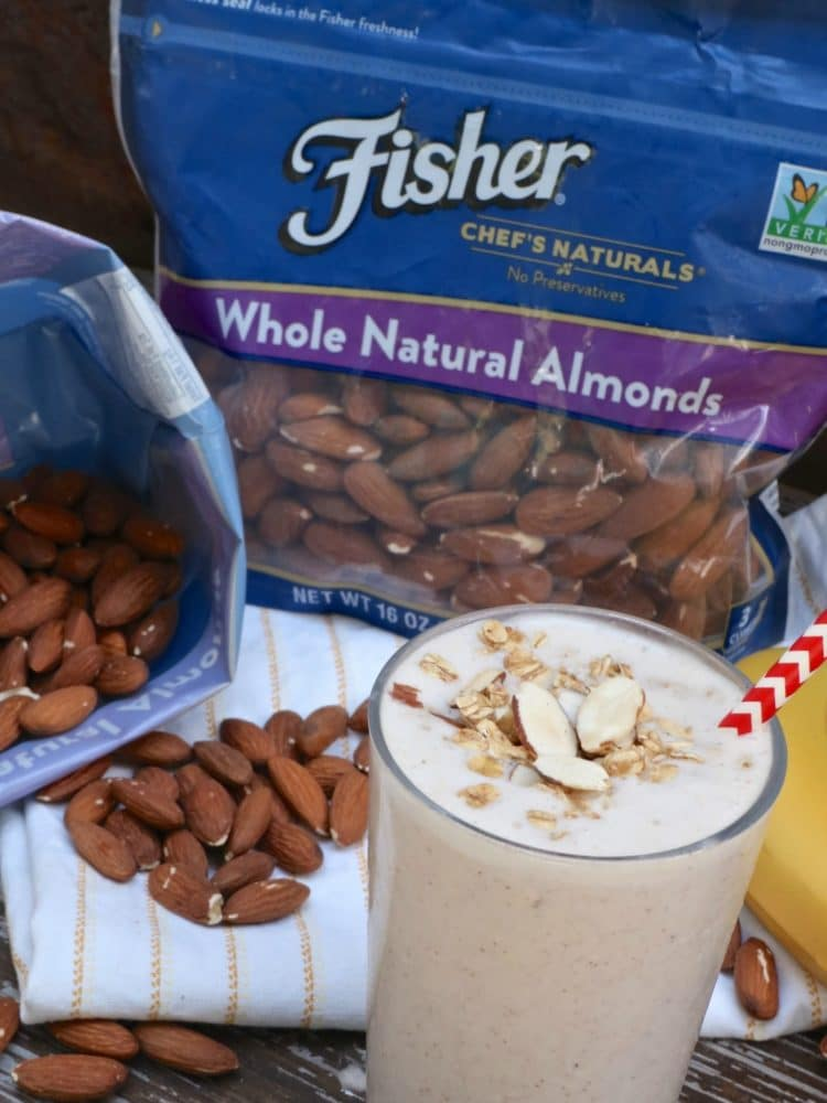 banana nut smoothie recipe