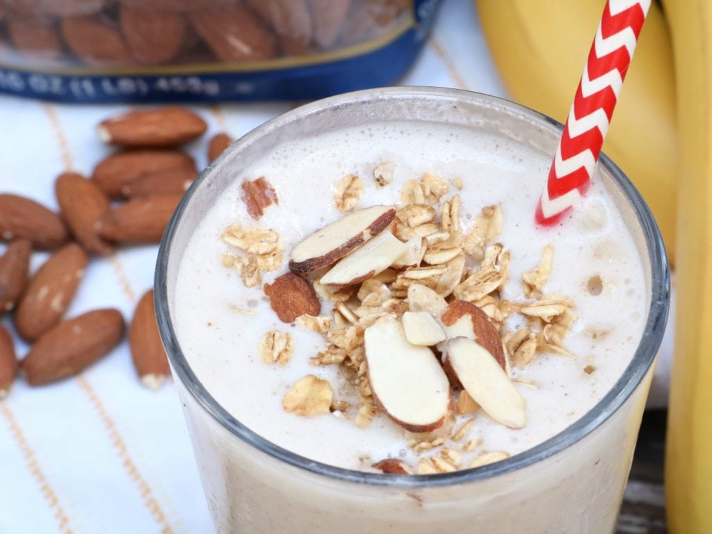 banana nut breakfast smoothie recipe