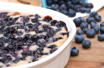 Old-Fashioned Blueberry Cobbler