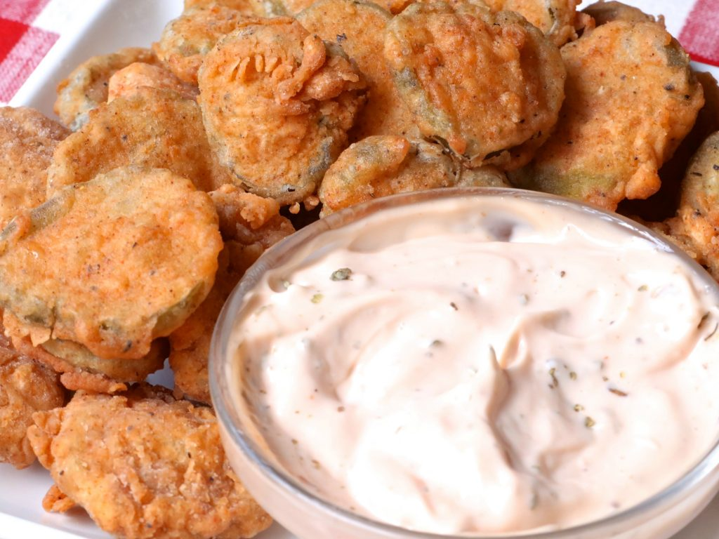 Southern Style Fried Pickles