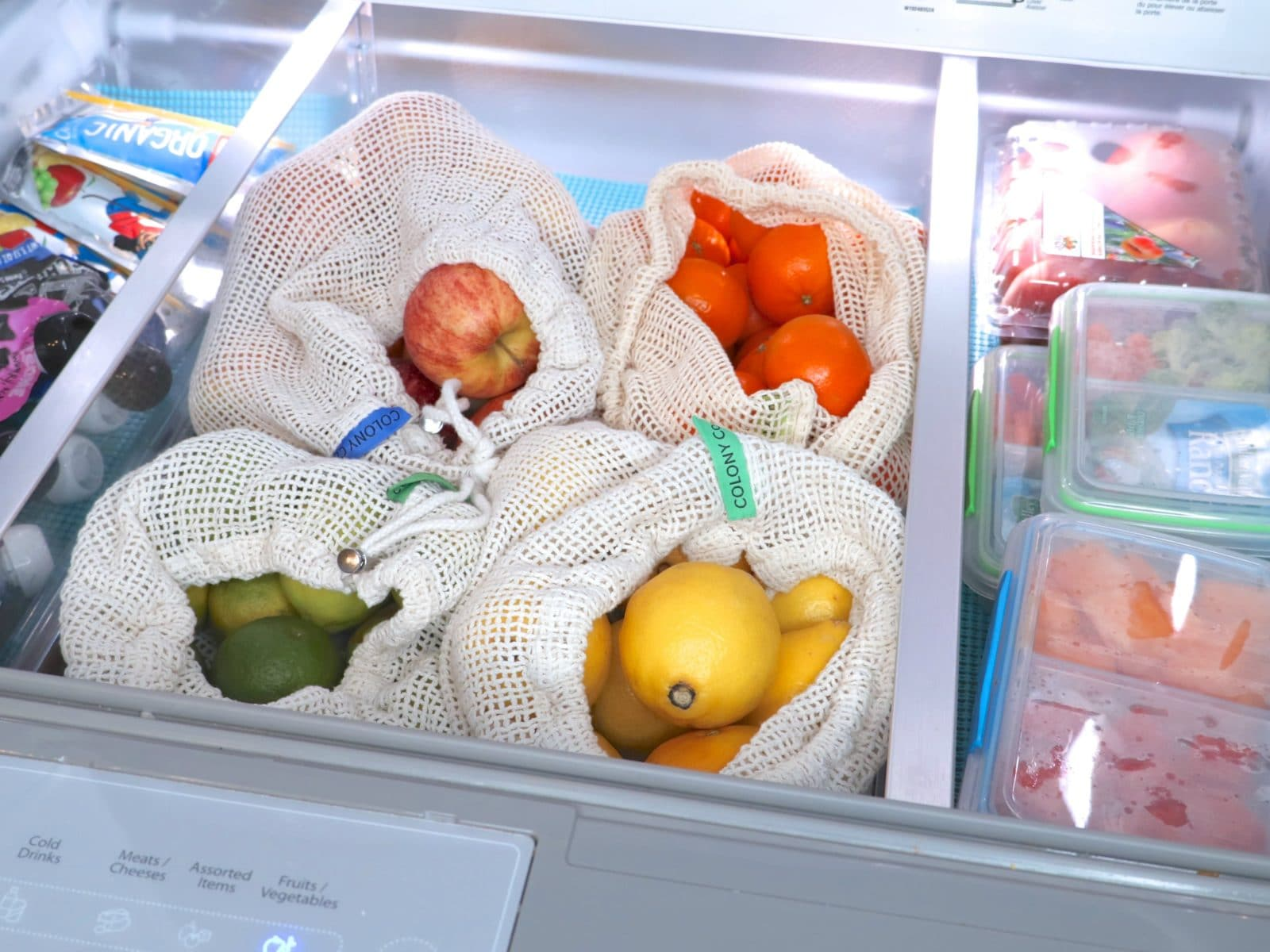 refrigerator produce bags