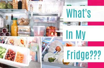 What's In My Refrigerator? Fridge Tour!