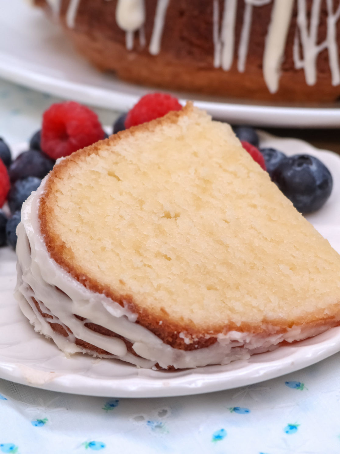Southern Cream Cheese Pound Cake