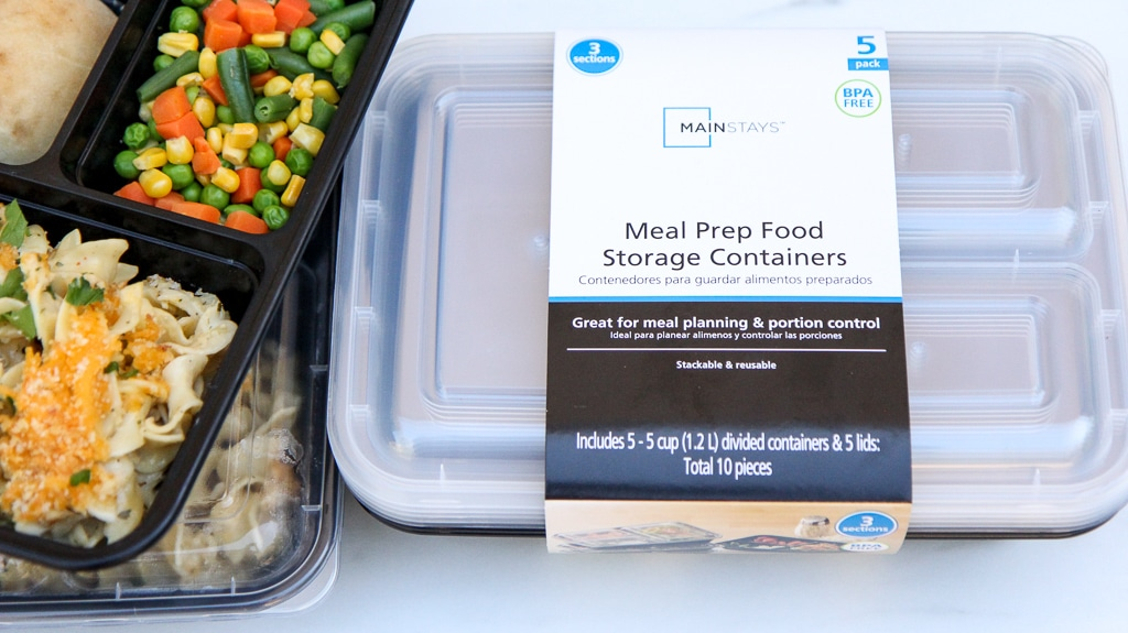 mainstays meal prep food container