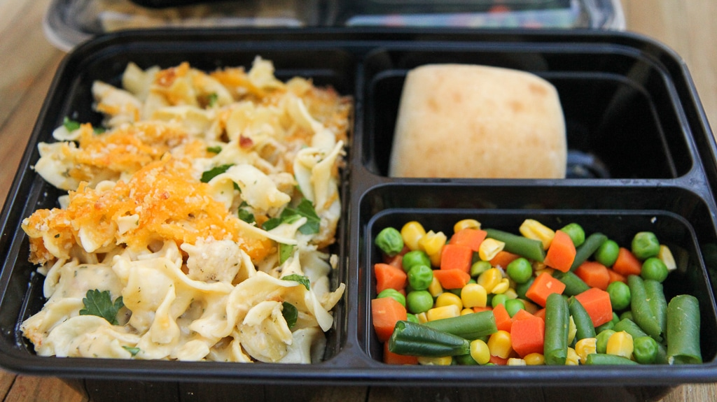 Mainstay's Meal Prep Food Containers