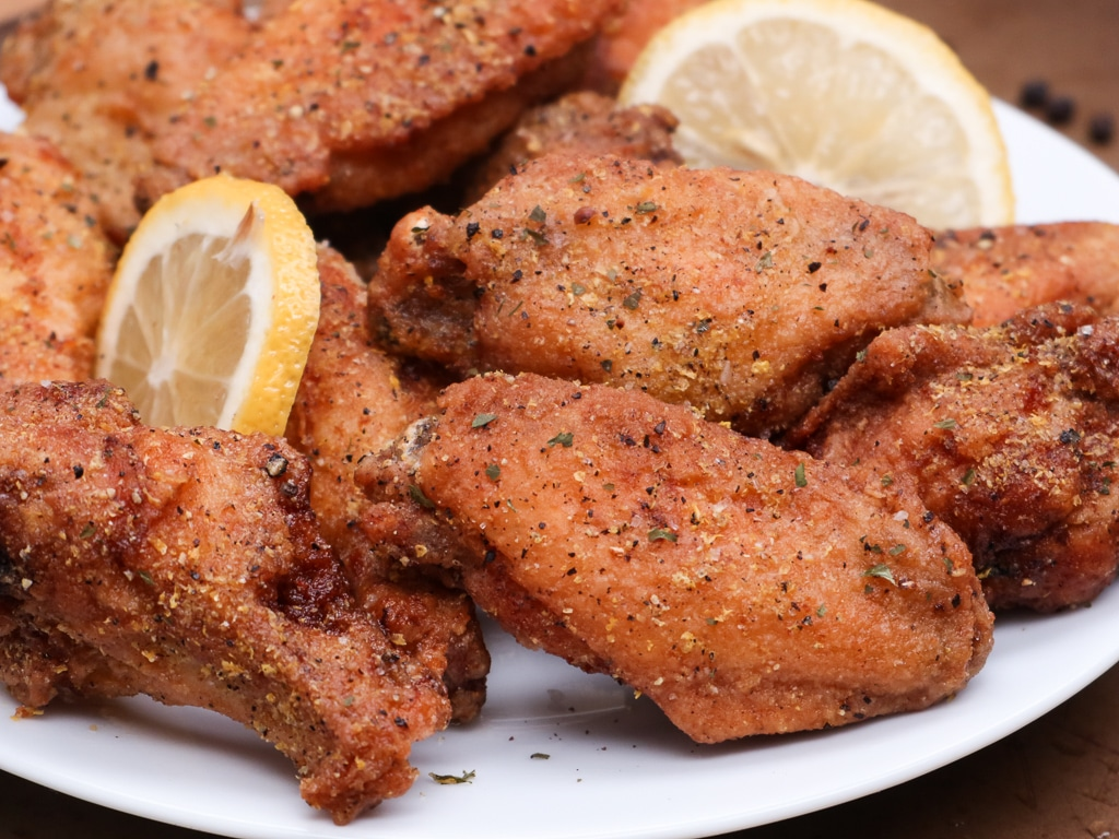 Homemade Lemon Pepper Wings