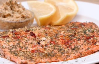 Cowboy Butter Baked Salmon