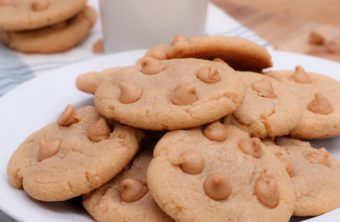 Soft Peanut Butter Chip Cookies
