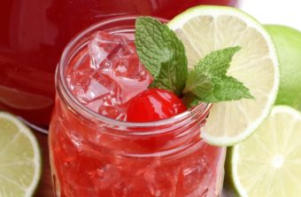 Refreshing Cherry Limeade