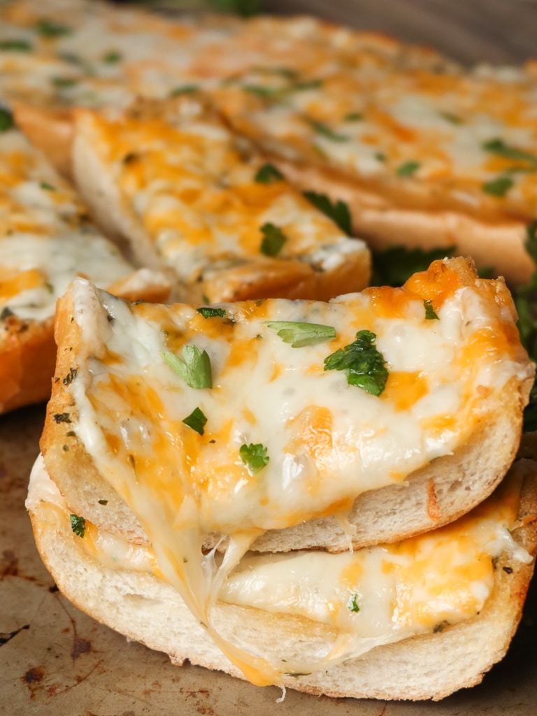 cheesy garlic bread recipe