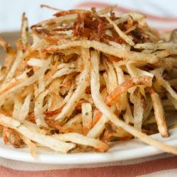 shoestring fries recipe