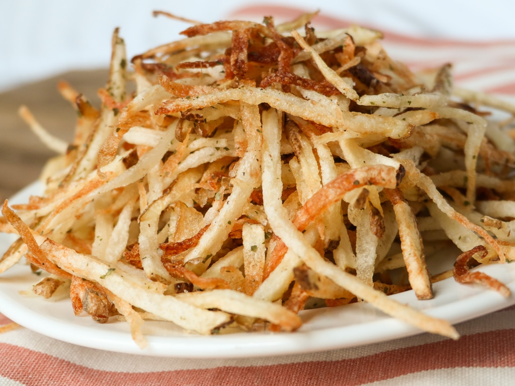 shoestring fries recipe