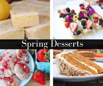Southern Spring Desserts