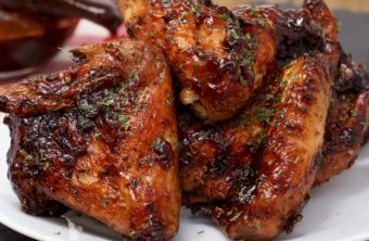 air fryer honey bbq chicken wings