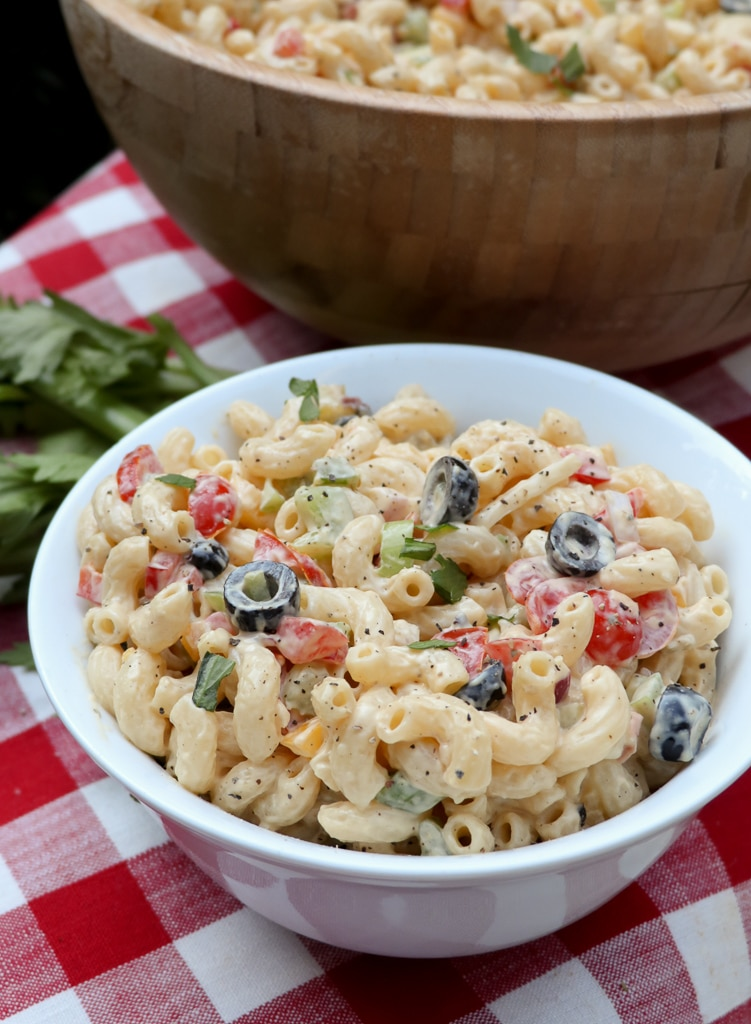 creamy vegan pasta salad recipe
