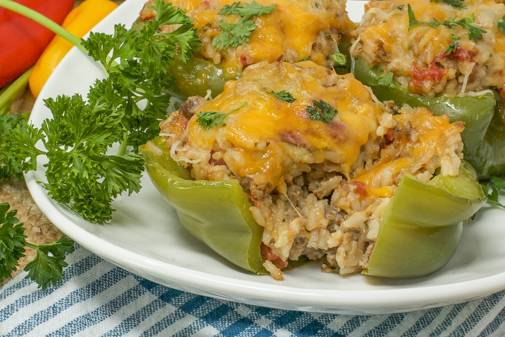classic stuffed peppers recipe