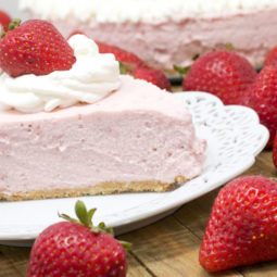 no-bake strawberry cheesecake recipe