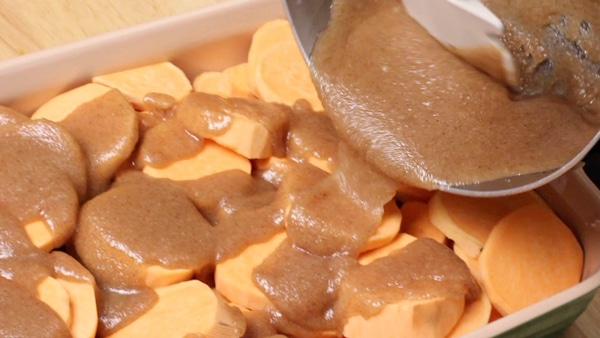 southern baked candied yams recipe