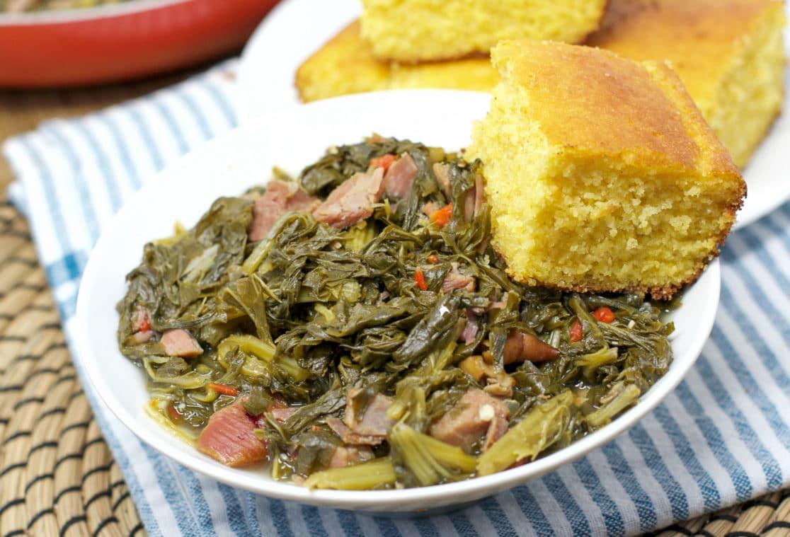 Soul Food Turnip Greens   Southern-Style No Bitterness