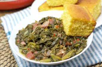 soul food turnip greens