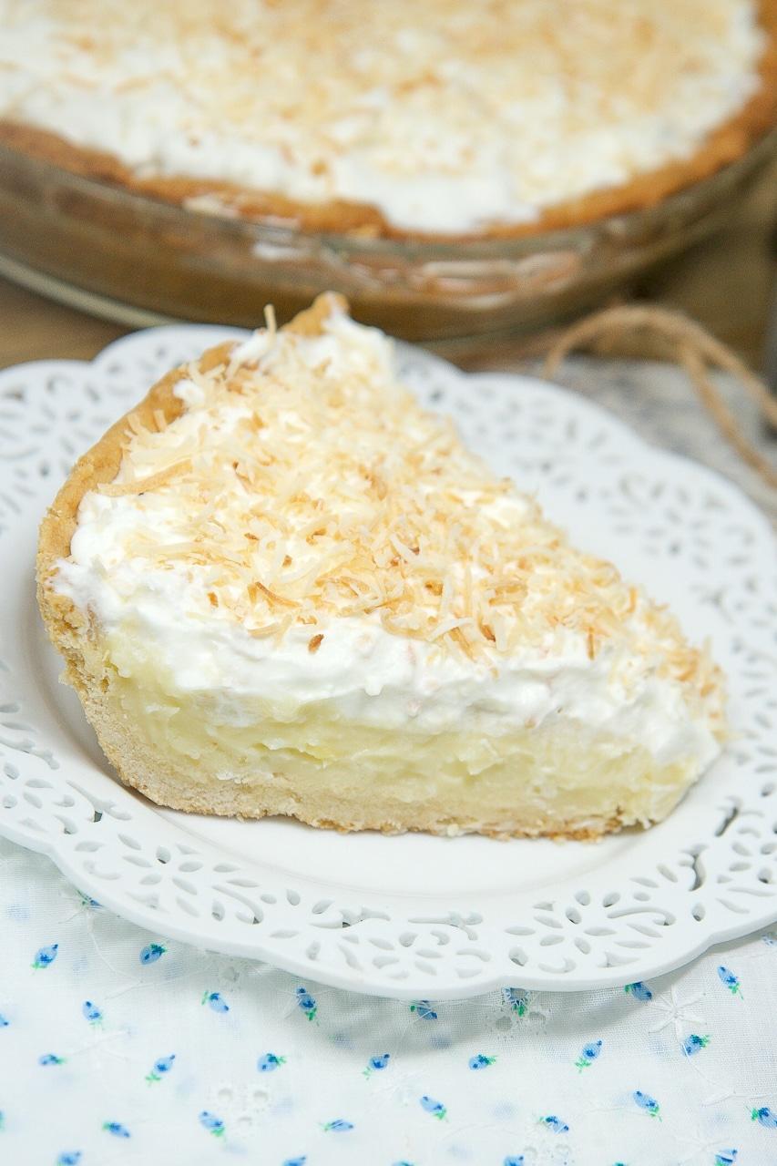 coconute cream pie recipe
