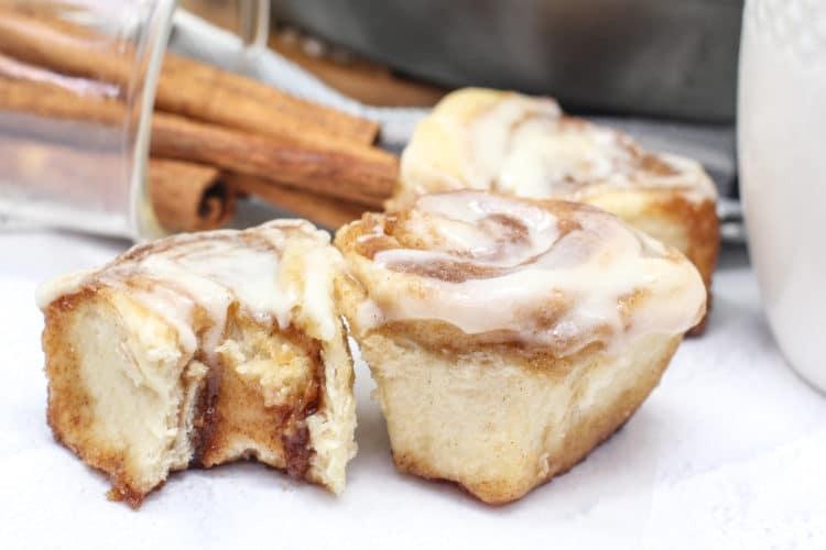 quick yeast cinnamon rolls
