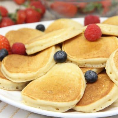 buttermilk silver dollar pancakes