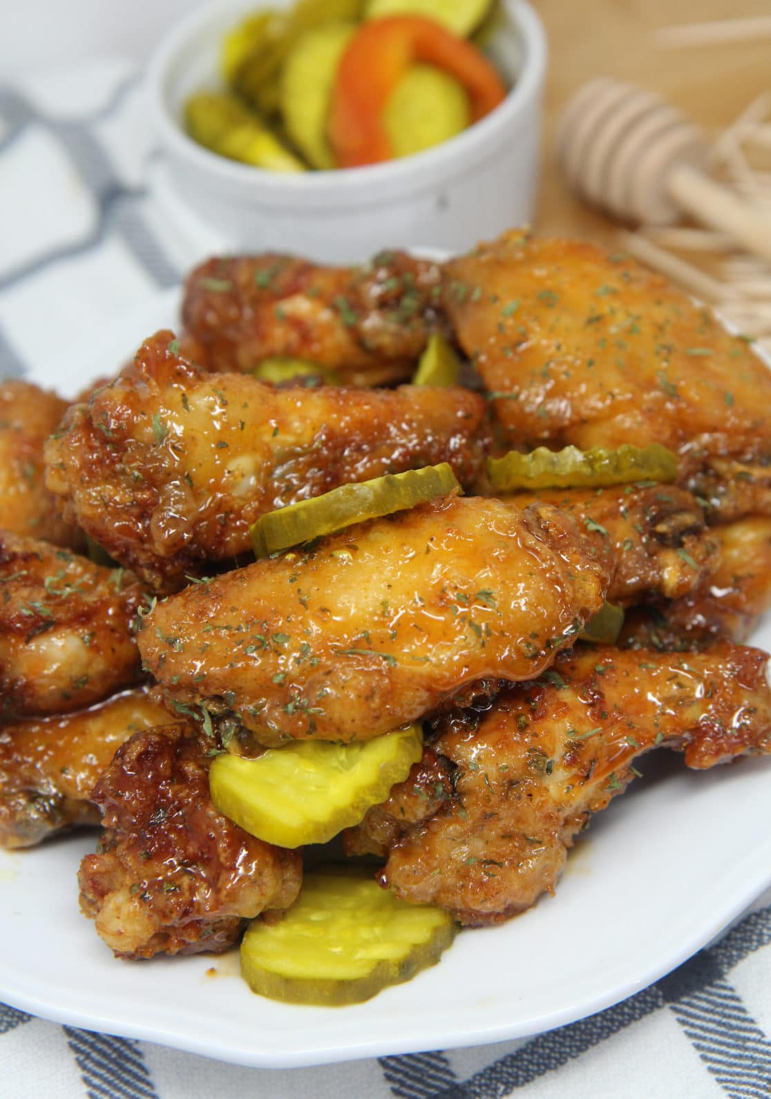 bread and butter chicken wings