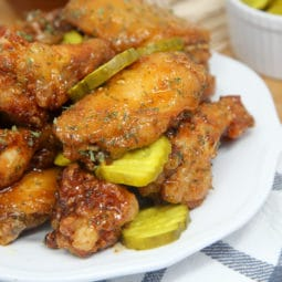 spicy honey chicken wings