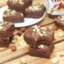 Nutella Brownies Recipe