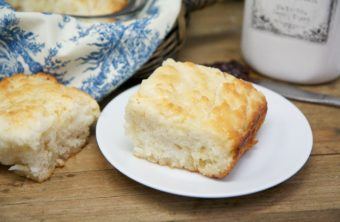 Fluffy Butter Swim Biscuits