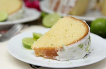 key lime pound cake w/ cream cheese key lime icing