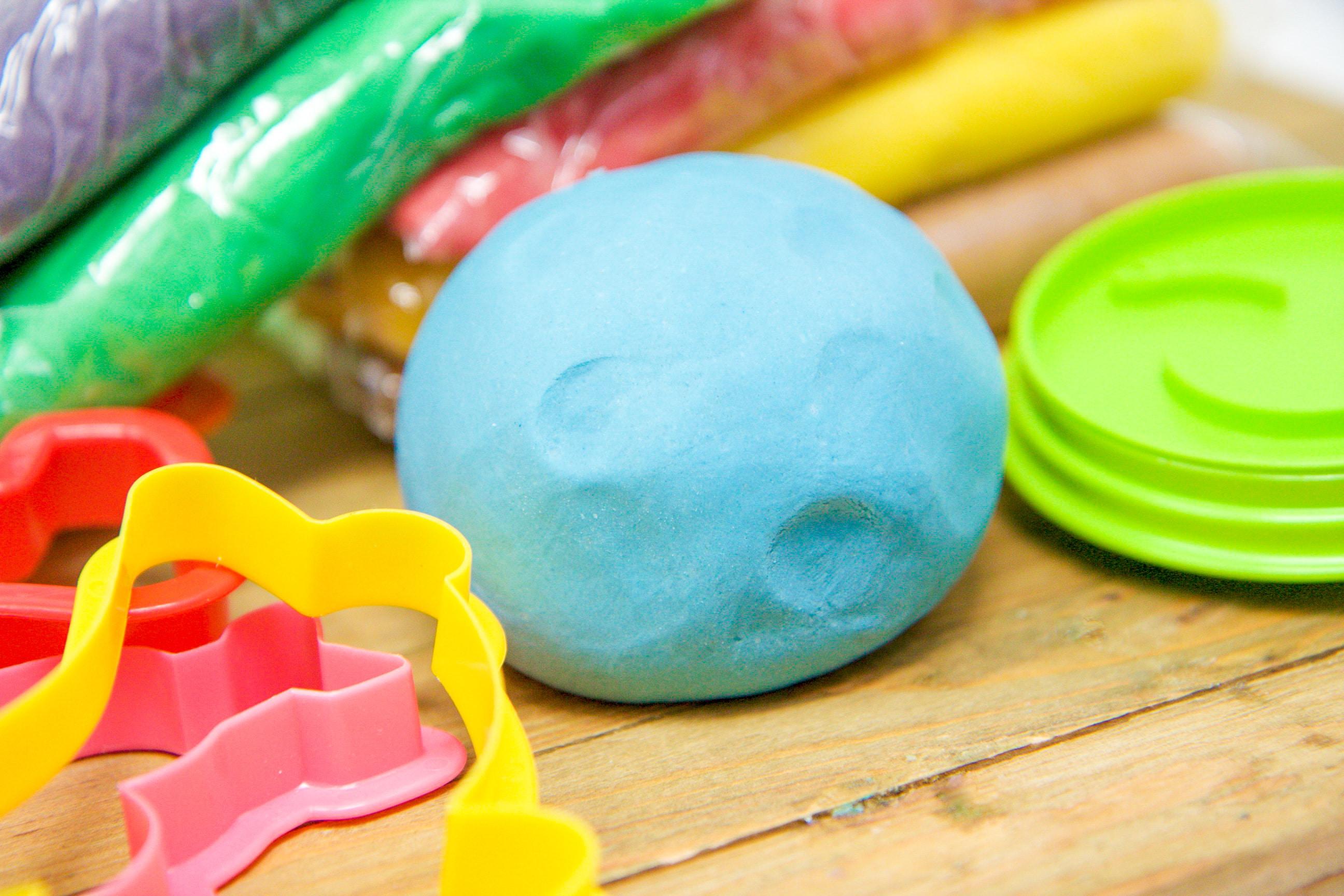 no-cook playdough recipe
