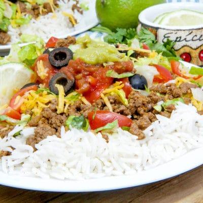taco rice recipe (takoraisu)