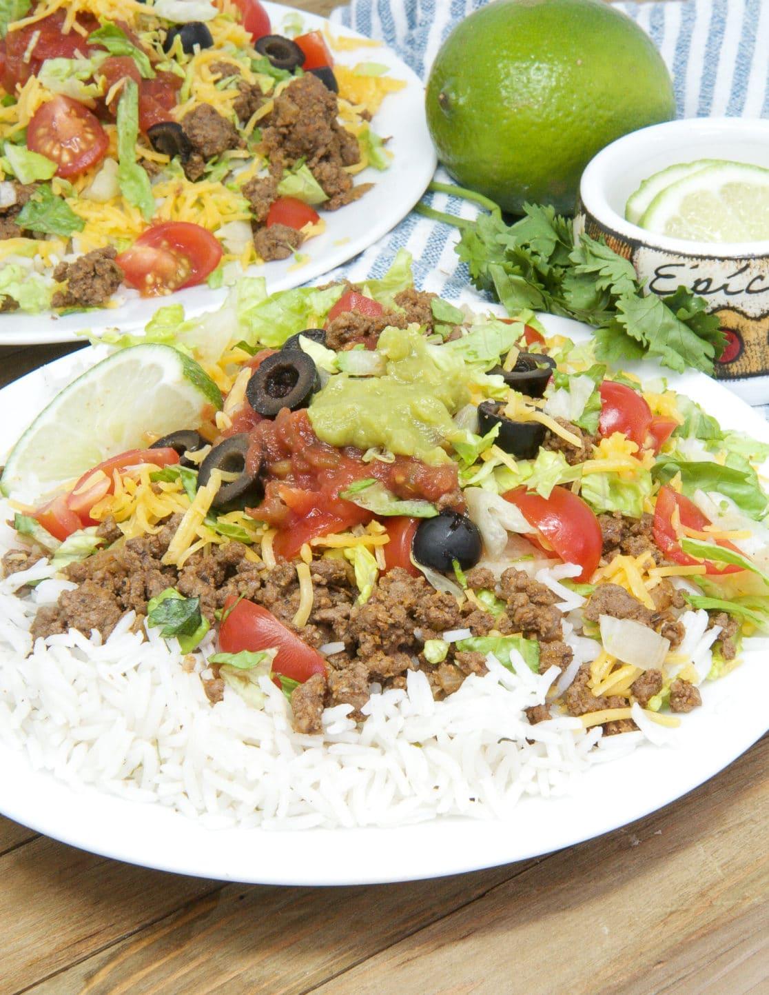 easy taco rice recipe (takoraisu)