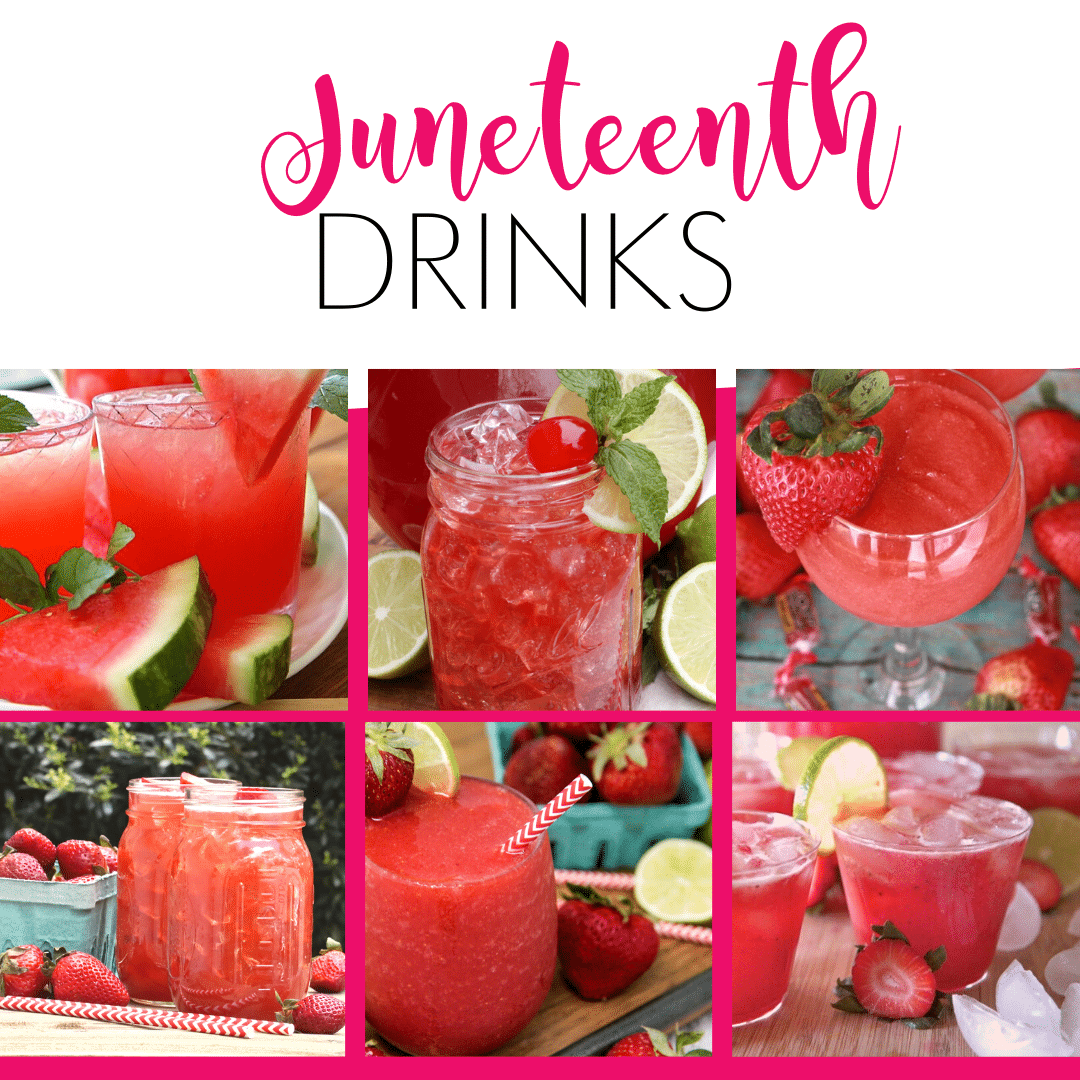 Juneteenth celebration foods drinks