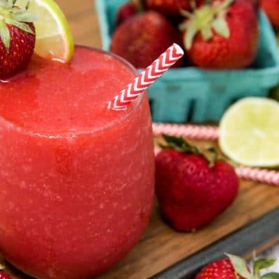 frozen strawberry daiquiri