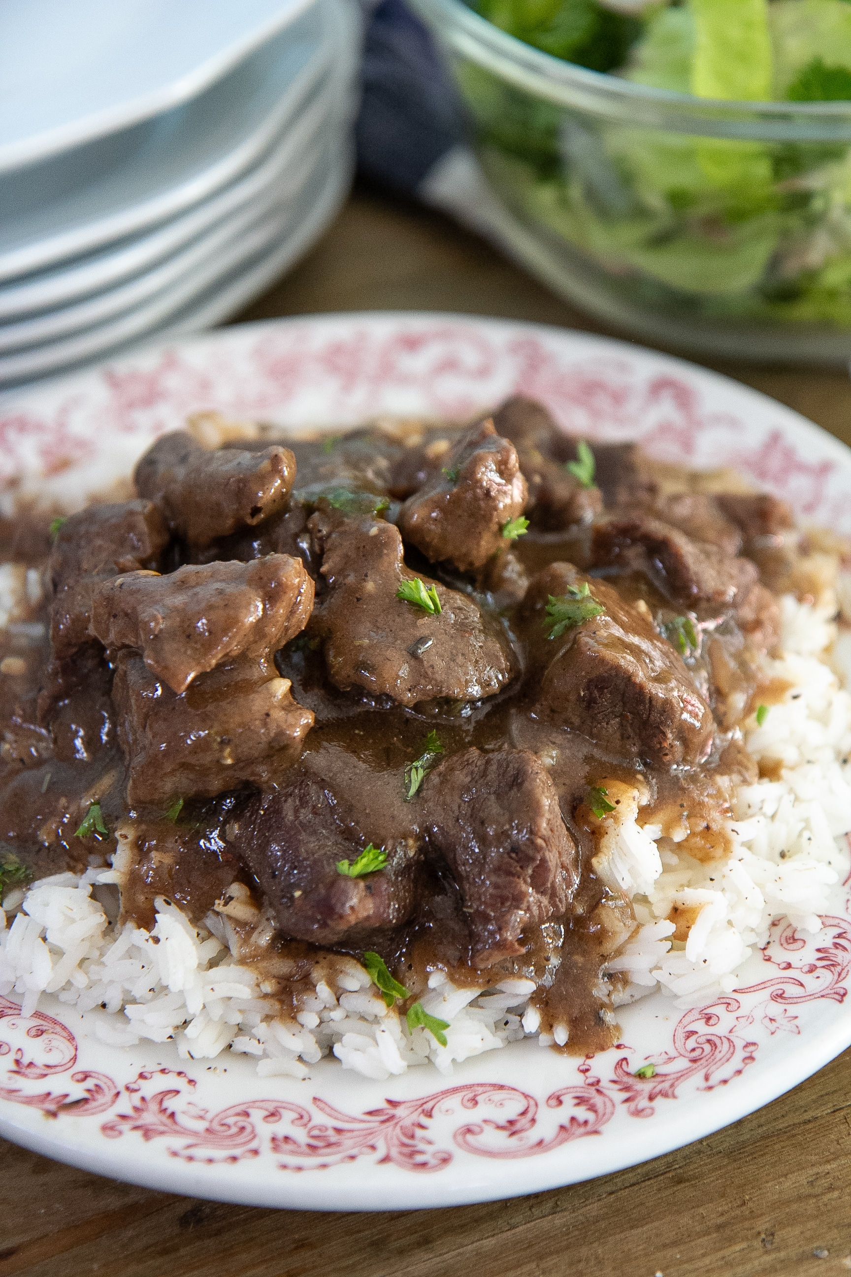 beef tips and gravy recipe