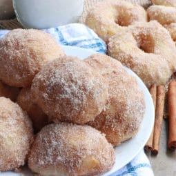 air fryer donuts recipe